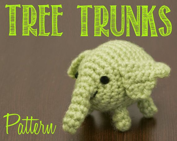 Tree Trunks Adventure Time Amigurumi Crochet by Crochet4Days