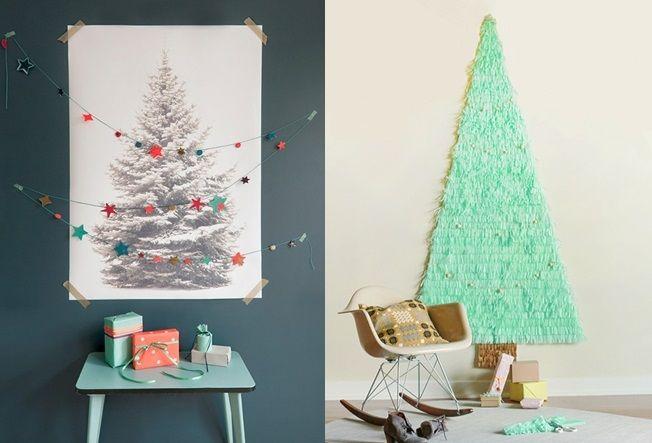 나무 없이 크리스마스 트리 만드는 방법 20가지 크리스마스 트리 크리스마스 및 나무