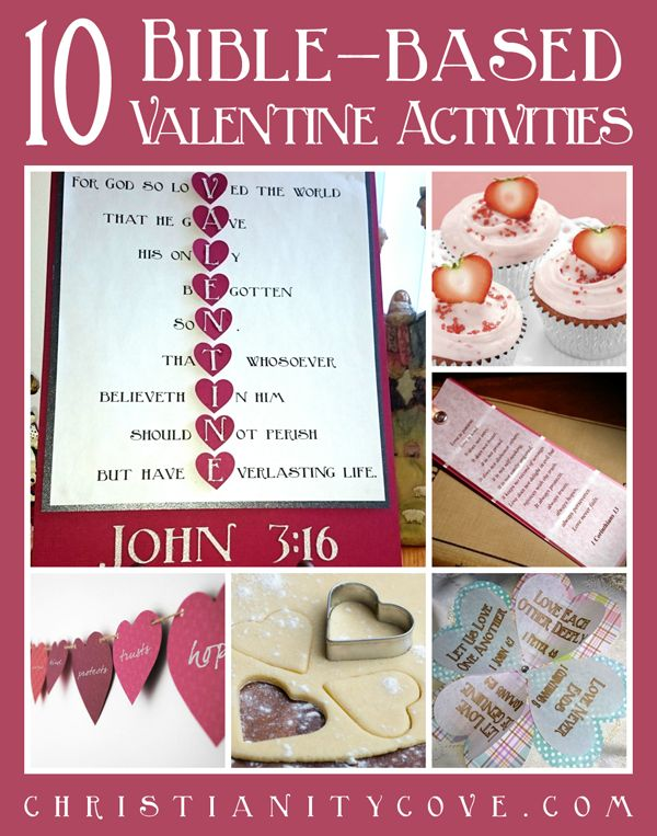 If you are looking for some new ideas for Valentines Day, we have put together a list of 10 beautiful Bible-based Valentine activities, crafts and snacks.  Each activity includes a touching Bible lesson that will deepen the meaning of the project.  Share these activities with your children, friends and loved ones, and give them the gift of a deeper meaning to Valentines Day!