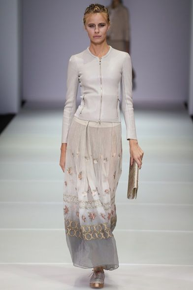 Sfilata Giorgio Armani Milano - Collezioni Primavera Estate 2015 - Vogue