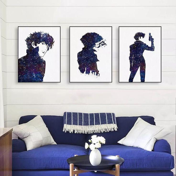 watercolor cowboy bebop spike buy from our #etsyshop hope you like it#artprints #artwork #mildart #poster #uniquegift #wallart #homedecor #painting #watercolo #photooftheday #amazing #picoftheday #bestoftheday #style #art #illustration #beautiful #artoftheday #anime #cowboybebop #handsome via www.mildart.com