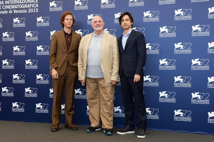 #Venezia72 #Photocall Great director BRIAN DE PALMA with NOAH BAUMBACH and JAKE PALTROW - De Palma #OutOfCompetition