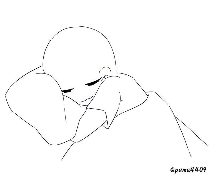 Asleep Drawing Base