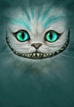 Gato de Cheshire Wallpaper