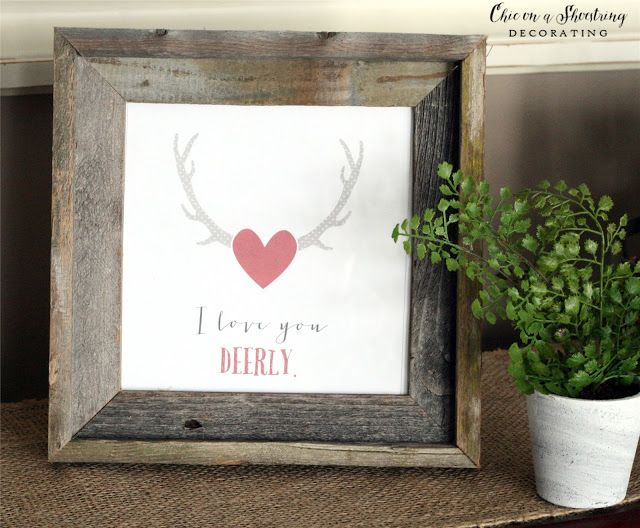 Farmhouse Valentine's Day Decor