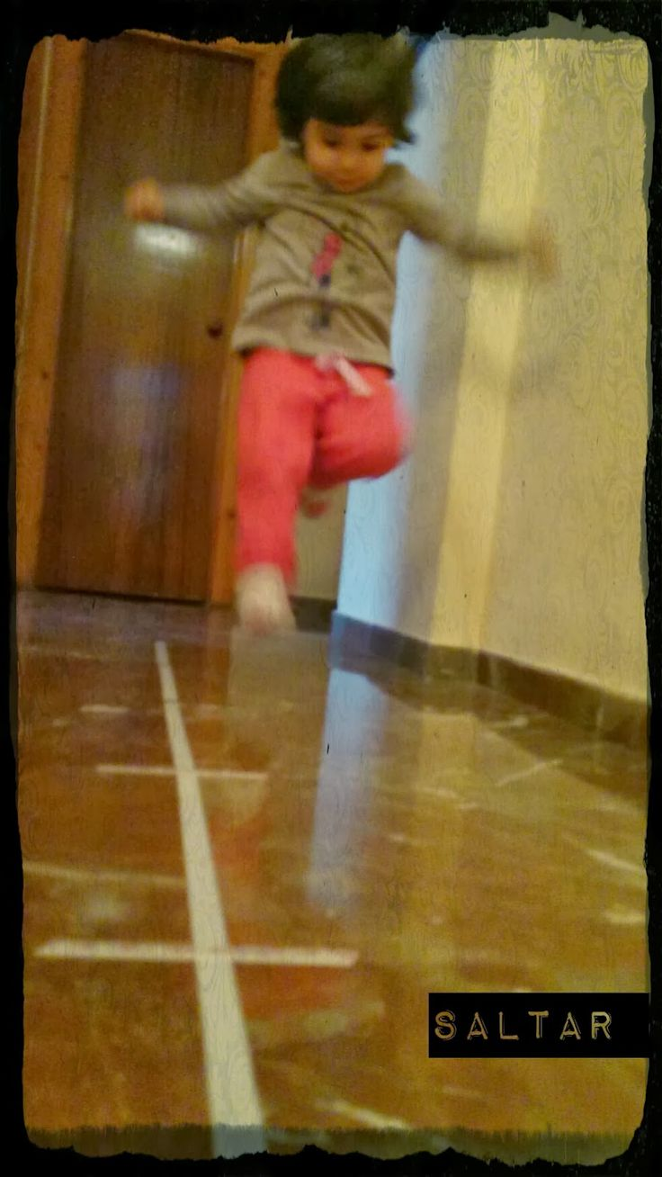 Trabajando la motricidad gruesa pretendo mejorar la agilidad, la fuerza, la coordinación y la velocidad en los movimientos de mi princesa....