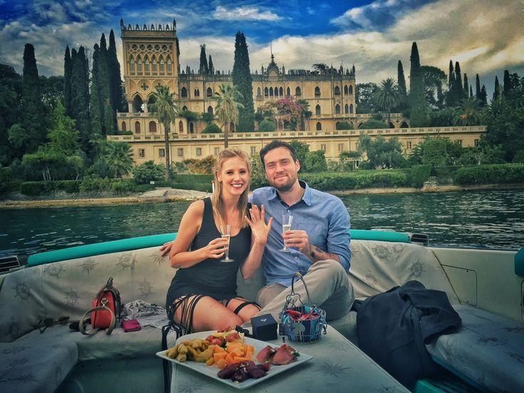 Get Engaged On Lake Garda - Harrison and Jaqueline