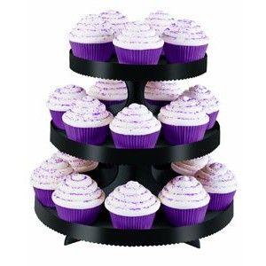 Wilton Cupcake Stand - Black Golda's Kitchen
