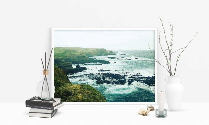Beach Print, Beach Decor, Sea Print, Travel Photography, Photography Prints, Fine Art Photography, Beach Photo, Ocean Print, Digital Art by SilBarragan on Etsy