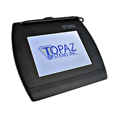 Signature Capture Pad   Active Electromagnetic   5.7 LCD DisplayTFT VGA 640x480   LCD backlight   Data Conversion Rate 377 pps   Simultaneous view of electronic signature on LCD pad    ?      Ethernet Adapter   TOP-SIGETH