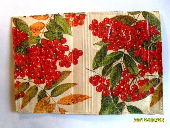 Leather Passport HolderChristmas giftMonogram от elenaaleshina