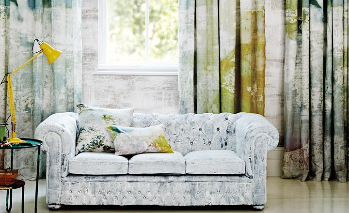 Stunning new fabric & wallpaper collection from Jessica Zoob for Romo Black