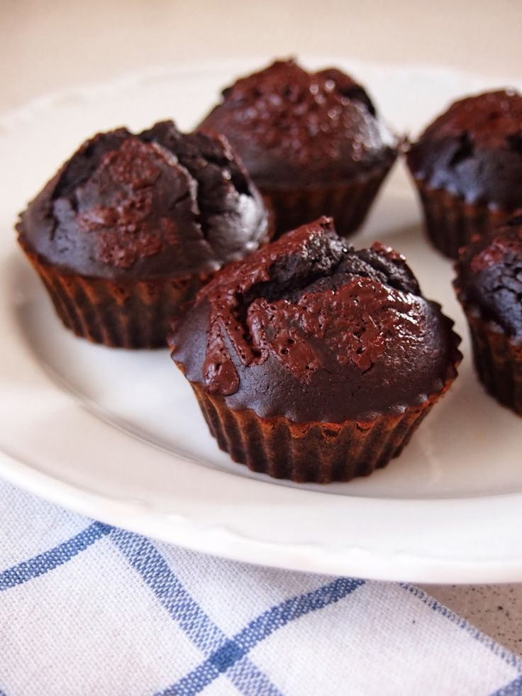 Cizrnovo- čokoládové muffiny