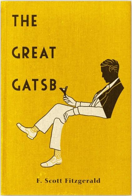 what a great cover...The Great Gatsby -- F. Scott Fitzgerald                                                                                                                                                                                 More