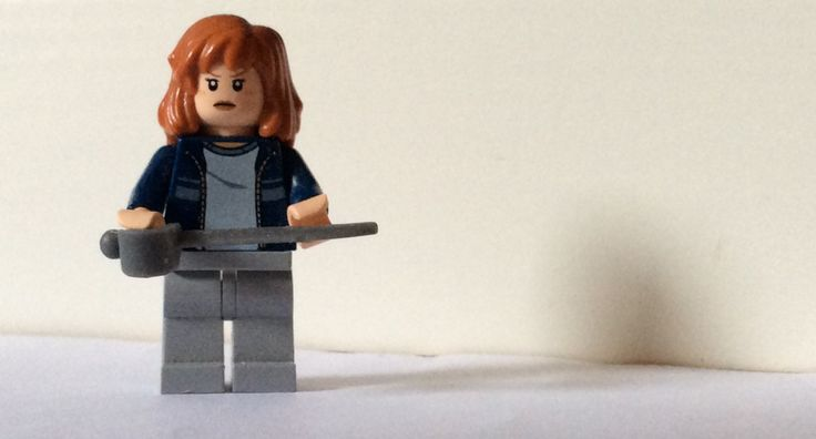 Mallory Grace from spiderwick in Lego that I made on my own.