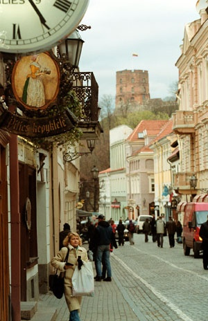 Vilnius, Lithuania. Can't wait to someday visit the homeland of my husband's grandfather.
