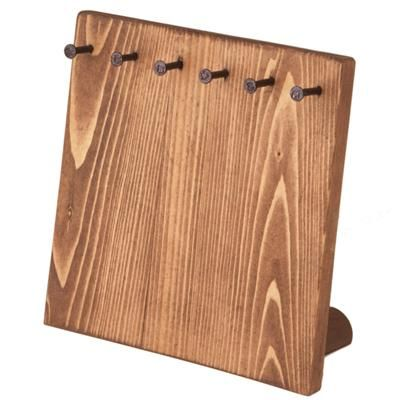 Jewelry Display - Wood Small Board Display. Great for displaying or storing Jewelry.
