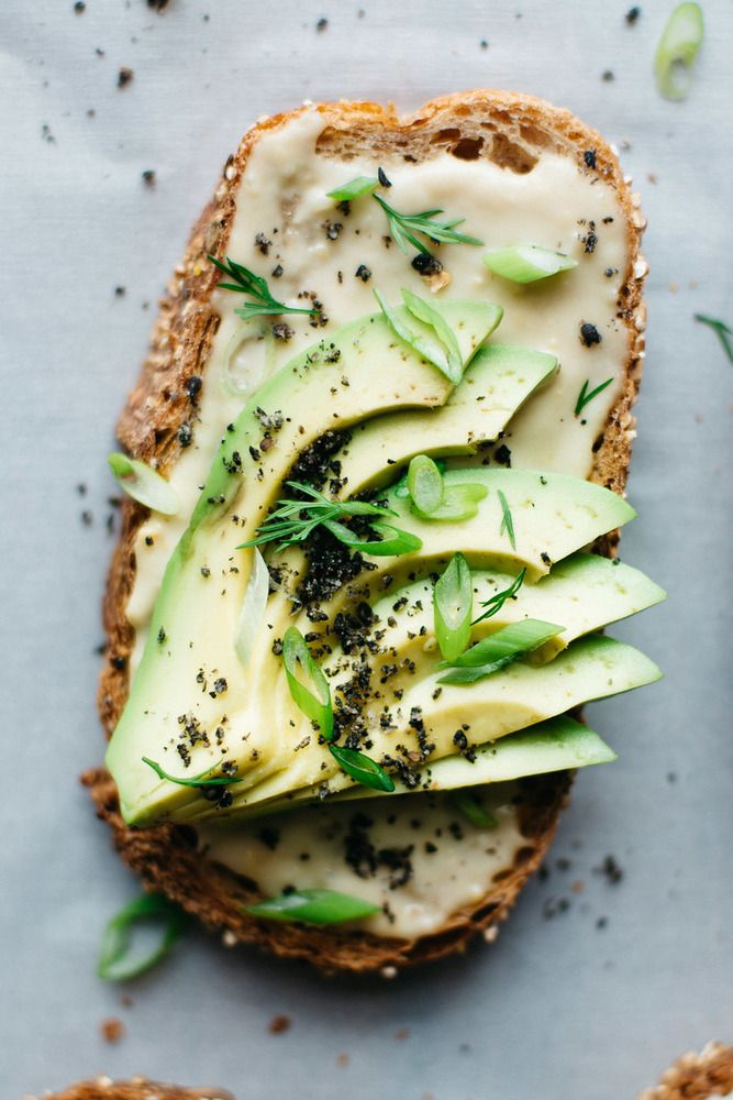 Miso-Tahini Avocado Toast is our current obsession