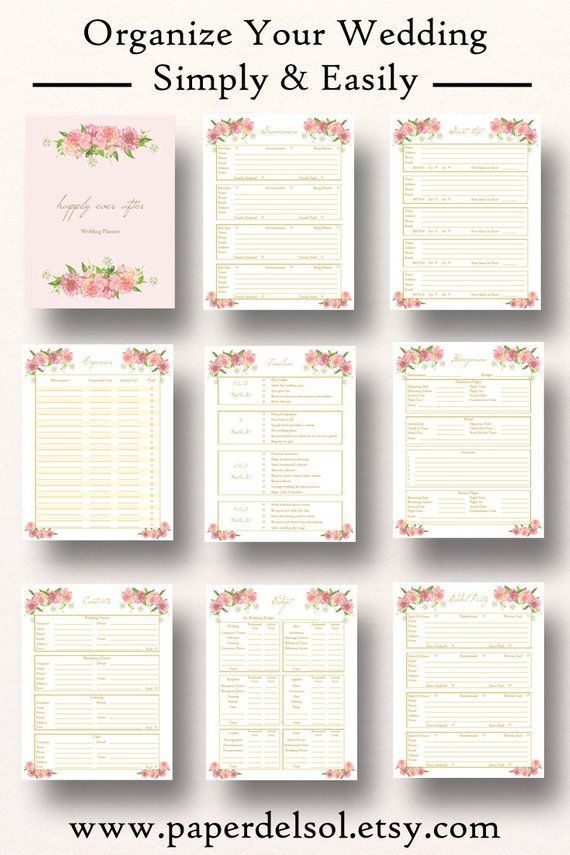graphic about Printable Wedding Planning named Wedding ceremony Planner Printables, Marriage Coming up with List