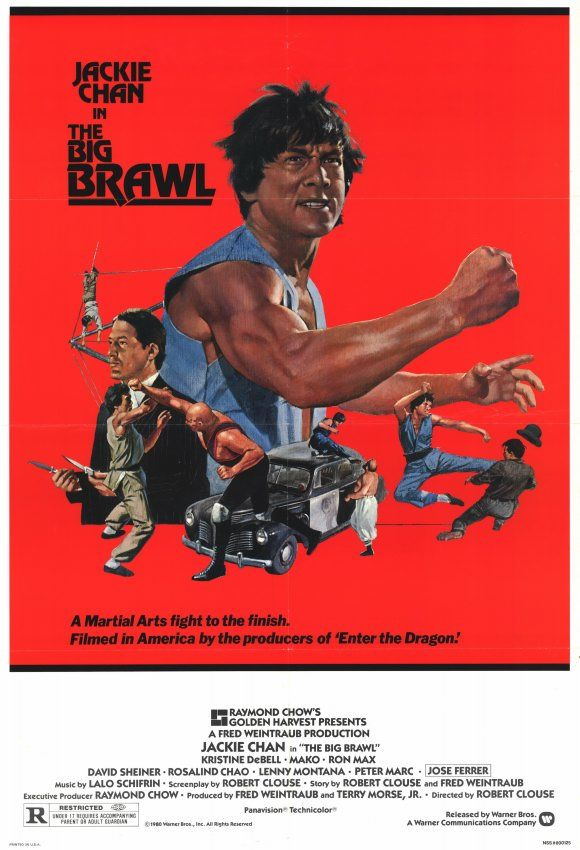 The Big Brawl , starring Jackie Chan, Kristine DeBell, José Ferrer, Mako. A young Asian American martial artist is forced to participate in a brutal formal street-fight competition. #Action #Comedy