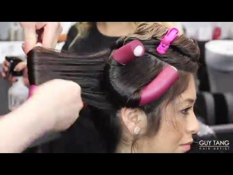 Permanent Beach Waves Tutorial - YouTube-- I need someone to do this to my hair!