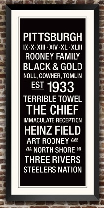 Steelers Wall Art 10 best pittsburgh steelers images on pinterest | steeler nation