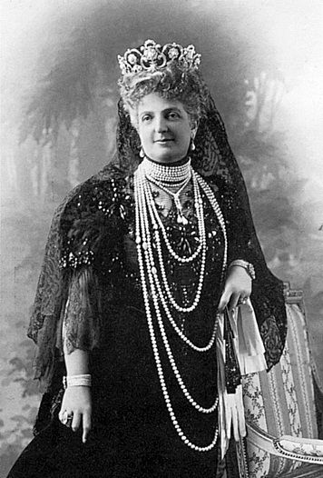 Her Majesty Queen Margherita of Italy (1851-1926) née Her Royal Highness Princess Margherita of Savoy