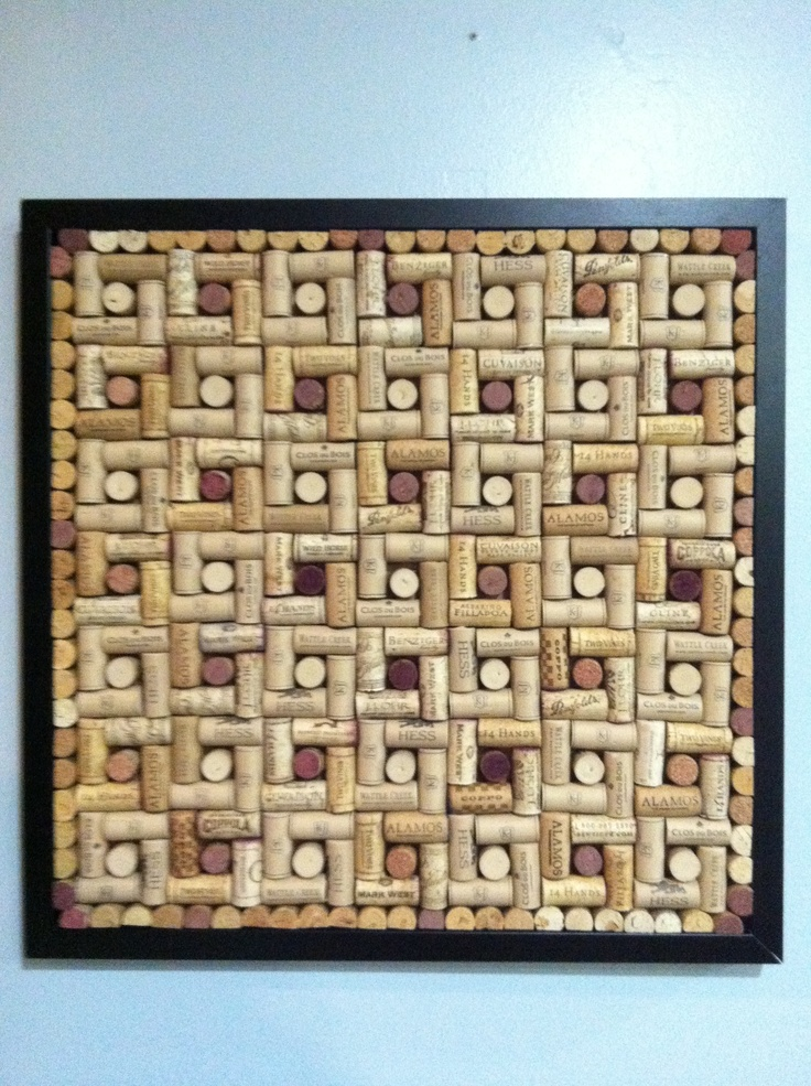 wine cork cork board corks pinterest patterns ideas