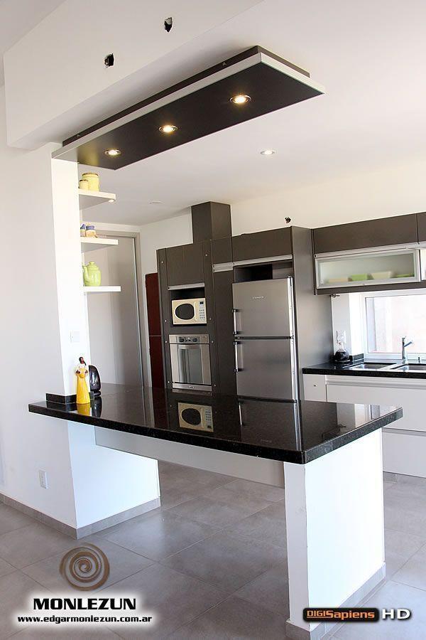 7025 best decoracion de cocinas images on pinterest - Modelos de cocinas pequenas ...