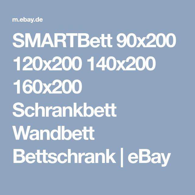 SMARTBett 90x200 120x200 140x200 160x200 Schrankbett Wandbett Bettschrank   eBay