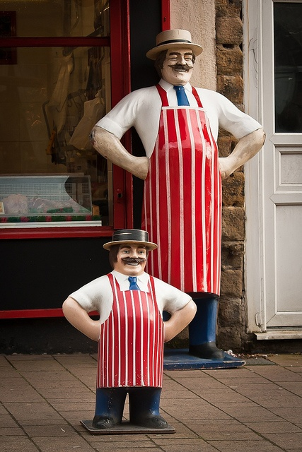 Meat and Greet - outside butcher shop