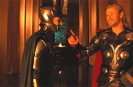 """Happy Thor's Day! """"You're my brother and my friend."""" — Loki #Thorsday"""