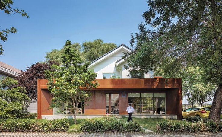 Cun Design Excavates Raw Materials for Beijing House Conversion