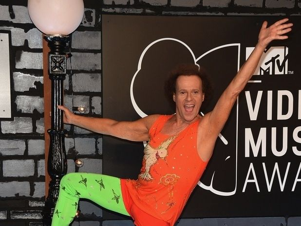 1000 images about richard simmons on pinterest silver foxes workout videos and diet books. Black Bedroom Furniture Sets. Home Design Ideas