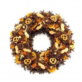 Christmas wreath/Wianek świąteczny