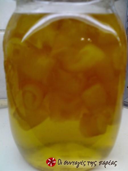 Γλυκό κουταλιού λεμόνι #sintagespareas