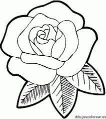 Resultado de imagen para rosa dibujo
