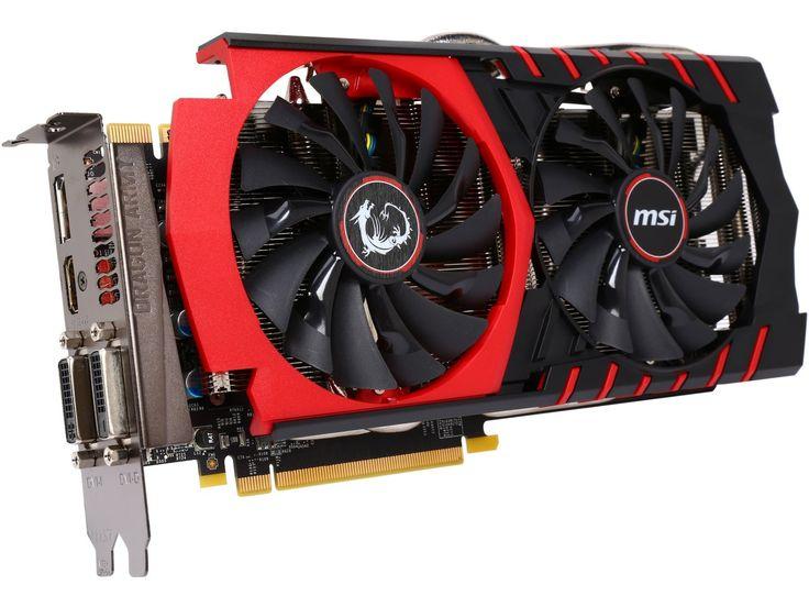 MSI GTX 970 GAMING 4G LE GeForce GTX 970 4GB 256-Bit GDDR5 HDCP Ready SLI Support ATX Video Card - $300 (save 14%) #newegg #videocards #msi #desktopgraphicscards