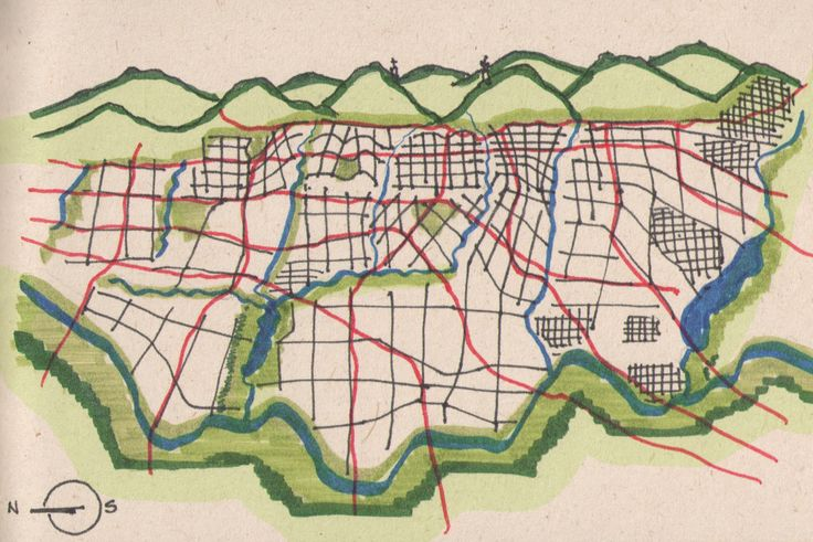 Week 1 -My name is René Daniels, I am an architect from Colombia. This is a map of Bogotá, Colombia. Population 8´500.000 approximately. My map is based on 4 systems. Green system (natural), hydric (rivers and wetlands), Mobility system (roads) and urban tracts. Design for public good assignment.