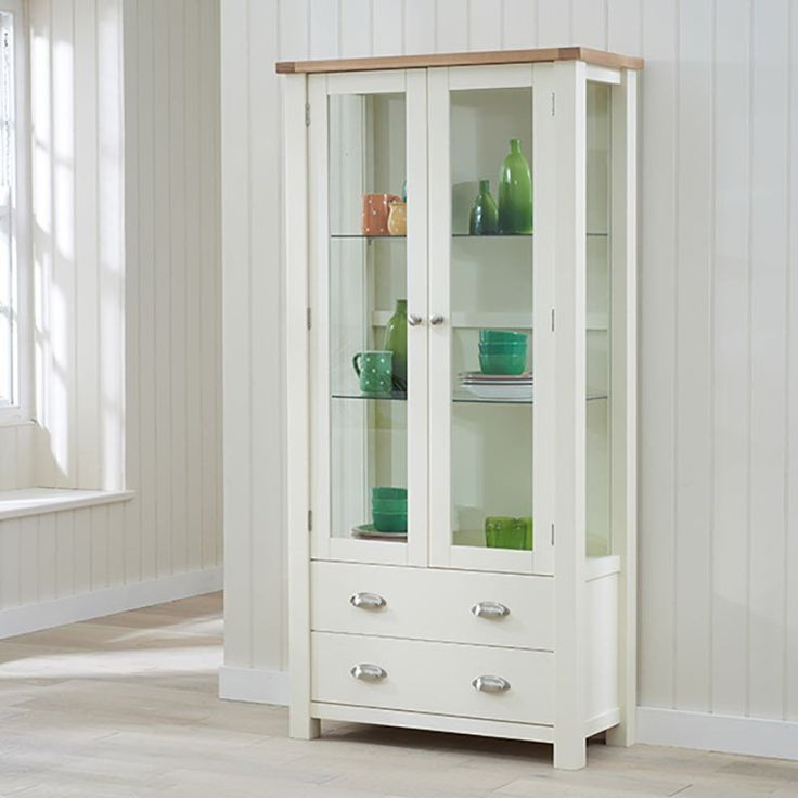 Sandringham Display Cabinet Cream -  - Display Cabinet - Mark Harris - Space & Shape