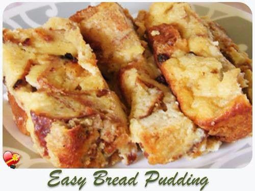 bread pudding recipe pudding hawaiian easy bread pudding bread ...