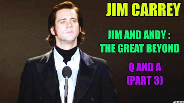 "Jim Carrey Details His ""Awakening"" While Reliving Andy Kaufman Role"