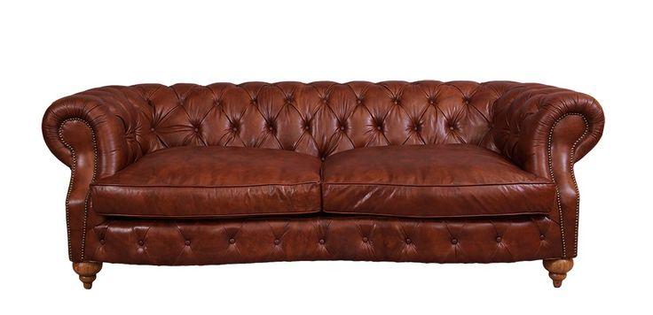 8 best vintage leder sofas images on pinterest canapes couches and settees. Black Bedroom Furniture Sets. Home Design Ideas