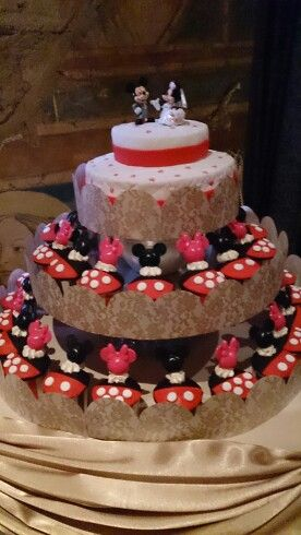 #mickeymouse #weddingcake