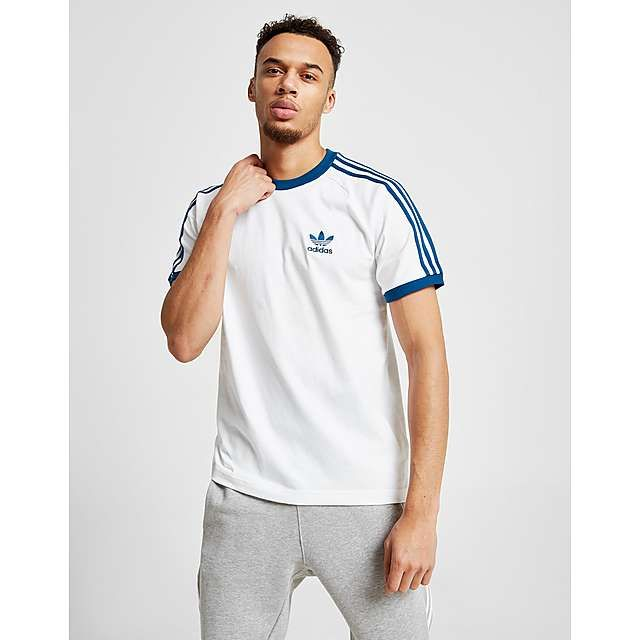 adidas Originals 3 Stripes California Short Sleeve T Shirt