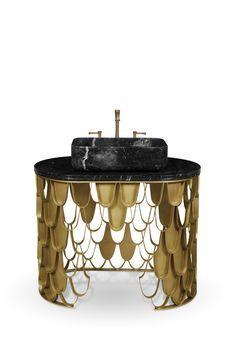Уникальная подборка мебели от португальского бренда @mvalentinabath! #дизайнинтерьера #дизайн #интерьер #домашнийдекор