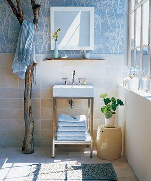tree hanger #bathroom #Badezimmer