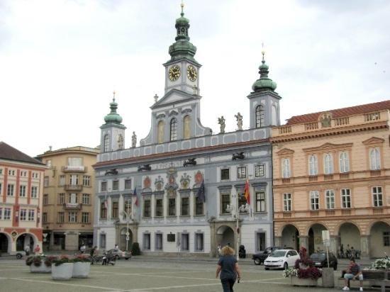Town Hall (Radnice) - Ceske Budejovice, Czech Republic