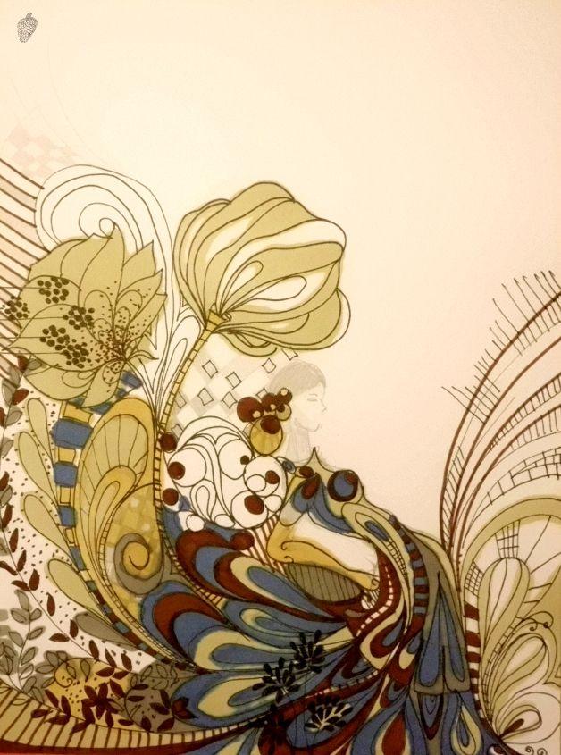 Ilustração da brasileira Kalina Juzwiak