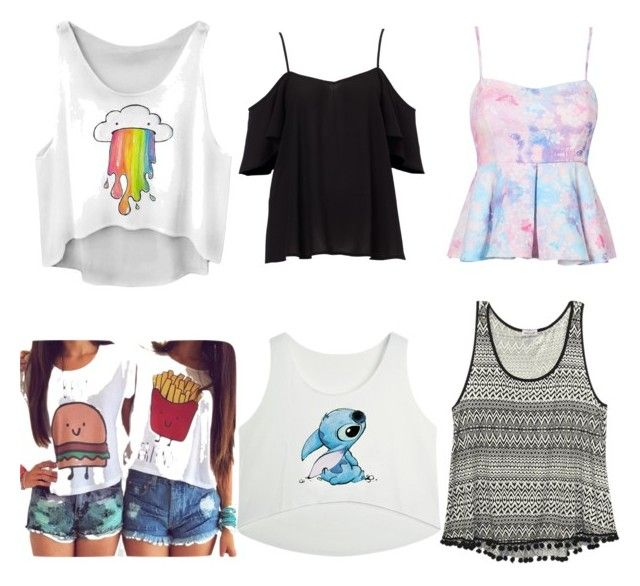 ❤️ by lollypopmy on Polyvore featuring polyvore, fashion, style and Wet Seal